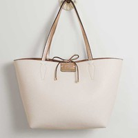 GUESS BOBBI INSIDE OUT REVERSIBLE TOTE PURSE