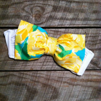 Bow bandeau style bikini top lilly pulitzer bow
