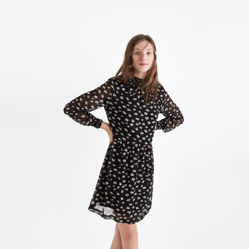 Mistlight Mockneck Dress in Seattle Floral : | Madewell