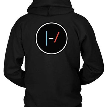 DCCKG72 Twenty One Pilots Logo Classic Slim Hoodie Two Sided