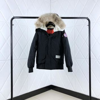 Canada Goose Woman Men Down Coat Cardigan Jacket Windbreaker