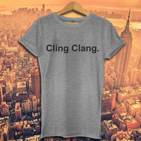 Impractical Jokers Cling Clang Sal Q Me joe fan top tee FUNNY - UNISEX T SHIRT