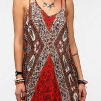 Staring At Stars Scarf Print Frock Dress