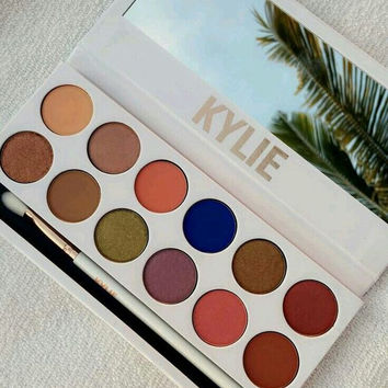 kylie Royal Peach Palette 12colours