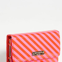 kate spade new york stripe iPhone wristlet | Nordstrom