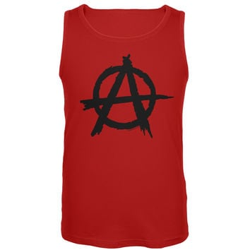 Anarchy Red Tank Top