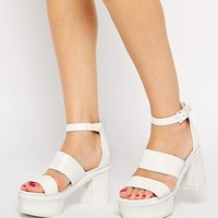 ASOS HALF TRUTH Heeled Sandals at asos.com