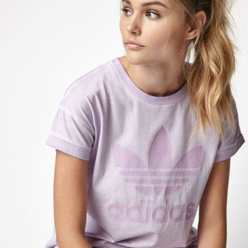 adidas Purple Tie Dye Boyfriend T-Shirt at PacSun.com - purple | PacSun