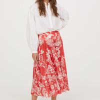 Pleated Skirt - from H&M