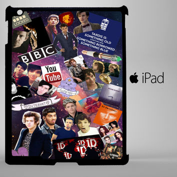 Fandom collage iPad 2, iPad 3, iPad 4, iPad Mini and iPad Air Cases - iPad