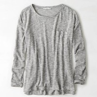 AEO FEATHER LIGHT POCKET SWEATER