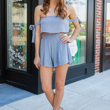 Stealing Hearts Two-Piece Romper