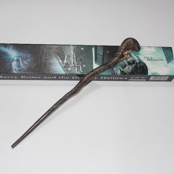 Genuine Super Quality Death Eater Nagini Snake Magic Wand Cosplay Prop Magic Wand Movie Toy Stick Harry Potter
