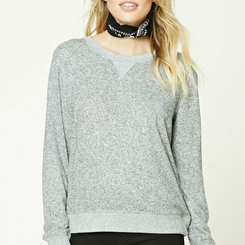 Contemporary Marled Sweatshirt