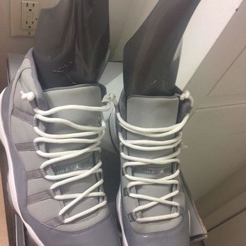 DCCK8TS Air Jordan 11 Retro - 14 'Cool Grey' - 378037 001 VVNDS!!! HEAT!!!