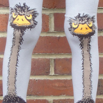 Children's Ostrich Leg Warmers - Arm Warmers or Leggings for Infant, Baby, Toddler, Kid - Birthday or Shower Gift for Boy or Girl