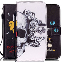 For iPhone 6  Wallet Covers PU Leather Cell Phone Flip Cases Cover For Apple iPhone 6S 6 4.7inch with Card Slots Stand Lanyard