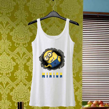 Minions Unique design custom tank top for man tank top and woman tank top