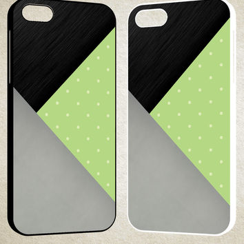 Light Mint Green F0513 iPhone 4S 5S 5C 6 6Plus, iPod 4 5, LG G2 G3, Sony Z2 Case