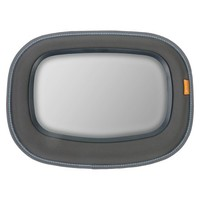 Brica Baby In-Sight Soft-Touch™ Auto Mirror for in Car Safety - Gray