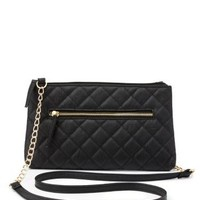 Chain Strap Quilted Cross-Body Bag by Charlotte Russe
