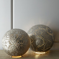Four Hands Marrakech Round Lamp