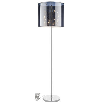 Arena Floor Lamp in Silver