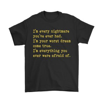 SPBEST IT Pennywise I¡¯m Every Nightmare You¡¯ve Ever Had Stephen King Shirts