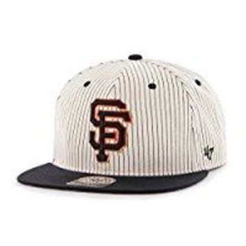 MLB unisex Woodside '47 Captain Adjustable Snapback Hat