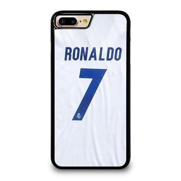 RONALDO CR7 JERSEY REAL MADRID iPhone 4/4S 5/5S/SE 5C 6/6S 7 8 Plus X Case
