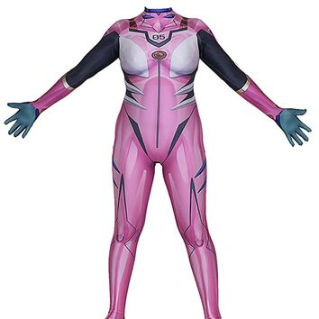 Anime Neon Genesis Evangelion Mari Makinami Illustrious Cosplay Costume 3D Printed EVA Custom Made Zentai Catsuit Long Sleeve