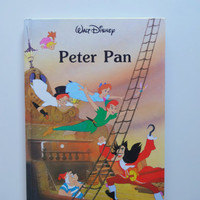 Vintage Walt Disney's Peter Pan Hardback Children's Book 1986
