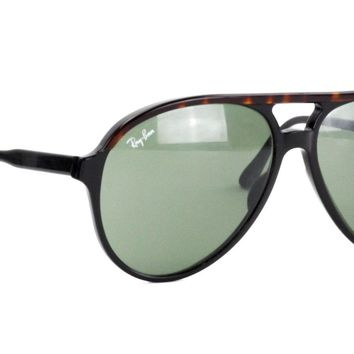 VINTAGE B&L RAY-BAN L1668 TRADITIONALS STYLE A BLACK & TORTOISE SUNGLASSES G-15