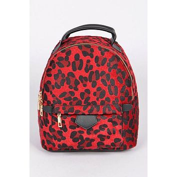 Take Me Out Mini Backpack - Red