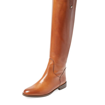 Charles David Women's Jola Leather Boot - Cognac -