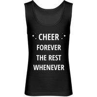 Cheer forever the rest whenever: Creations Clothing Art
