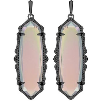Francie Earrings in Iridescent Opalite - Kendra Scott Jewelry