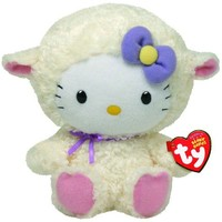Ty Beanie Babies Hello Kitty Lamb Suit