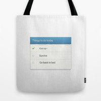 Funny Tote Bag by Trend