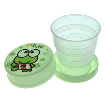 2016 Creative Animal Cartoon Bear Monkey Frog Folding Cup Children Kids Portable ABS Retractable Cup Outdoor Travel Mug Hot