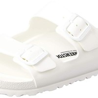 Birkenstock Unisex Arizona Essentials EVA White Sandals - 9 D(M) US / 11 B(M) US