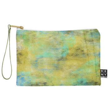 Allyson Johnson Yellow Paint Pouch