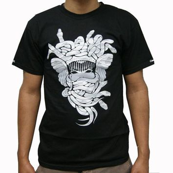 ONETOW Crooks & Castle Camodusa T-Shirt In Black