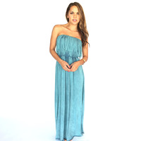 Drift Away Fringe Maxi Dress