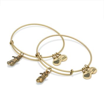 Side By Side Charm Bangles | JDRF