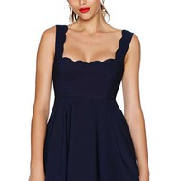 Nasty Gal I'm Yours Dress - Navy