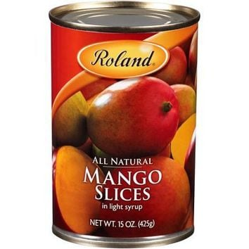 ROLAND & DOLE MANGO SLICES 15 OZ