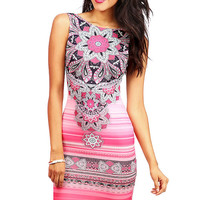Paisley Stroke Dress