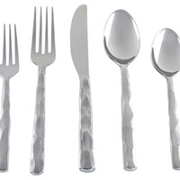 20-Pc Cameron Mirror Stainless Steel Set, Flatware Place Settings