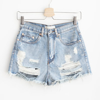 Nicolette Denim Shorts